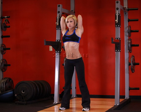 Standing Dumbbell Triceps